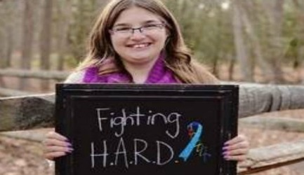 12 year old Howell Township girl helps to fight rare diseases