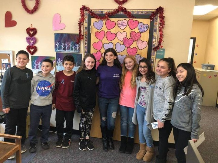 Howell Schools Show Their Support For Sisters' RARE Cause