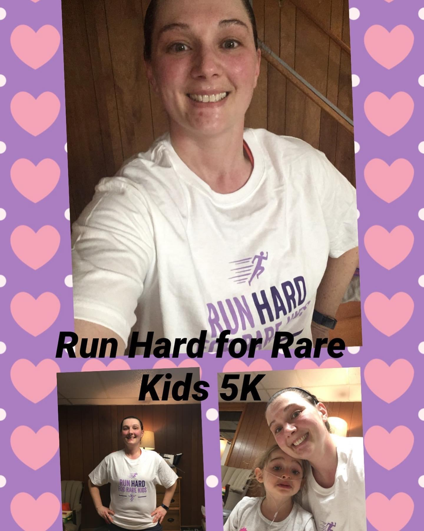 Run HARD for Rare Kids 2021